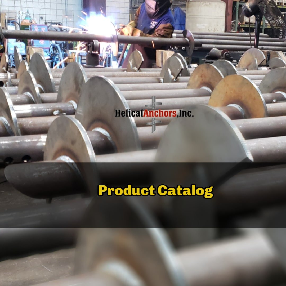 Product Catalog for Helical Anchors INC