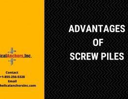 Advantages of Screw Piles