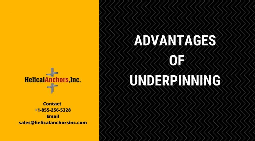 Advantages of Underpinning