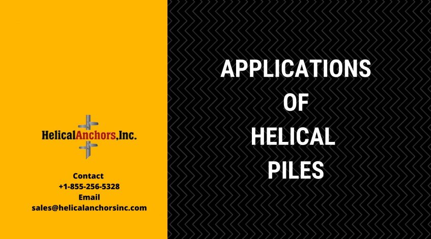 Applications of Helical Piles