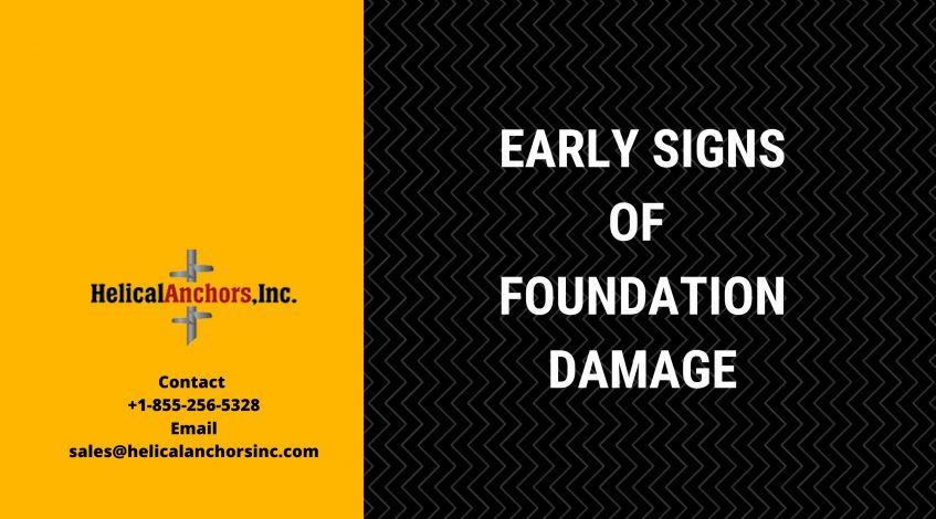 Early Signs of Foundation Damage