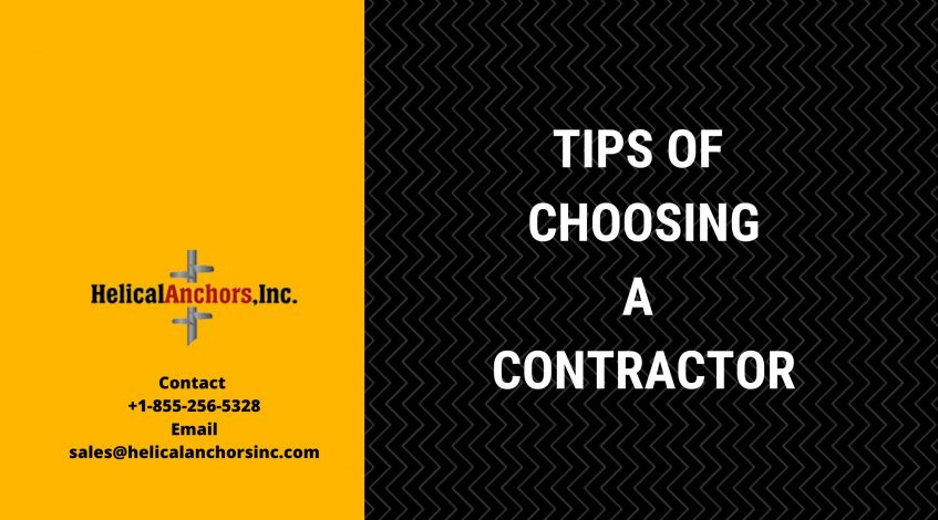 Tips for Choosing a Contractor