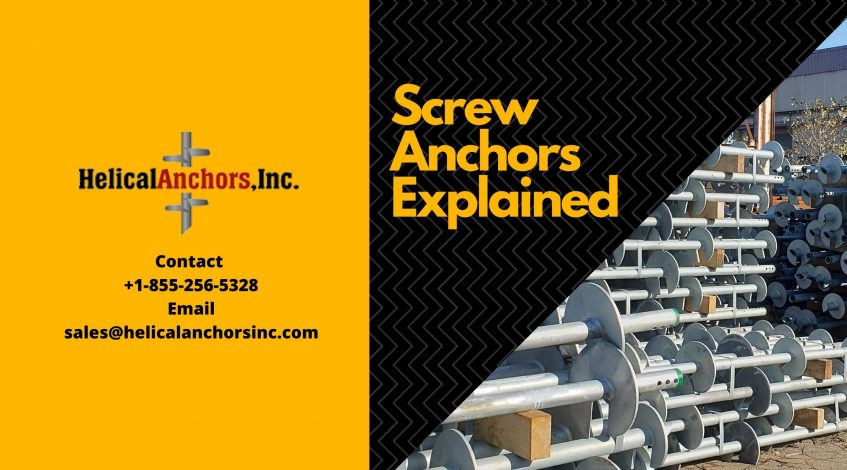 Screw Anchors Explained