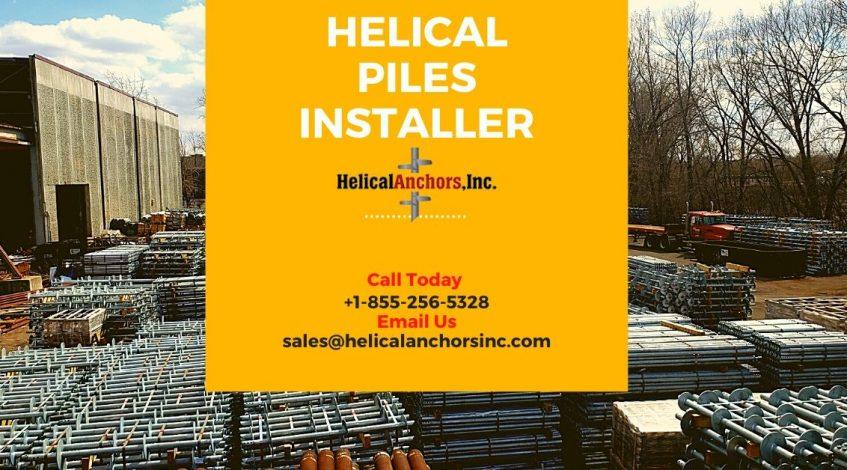Helical Piles Installer