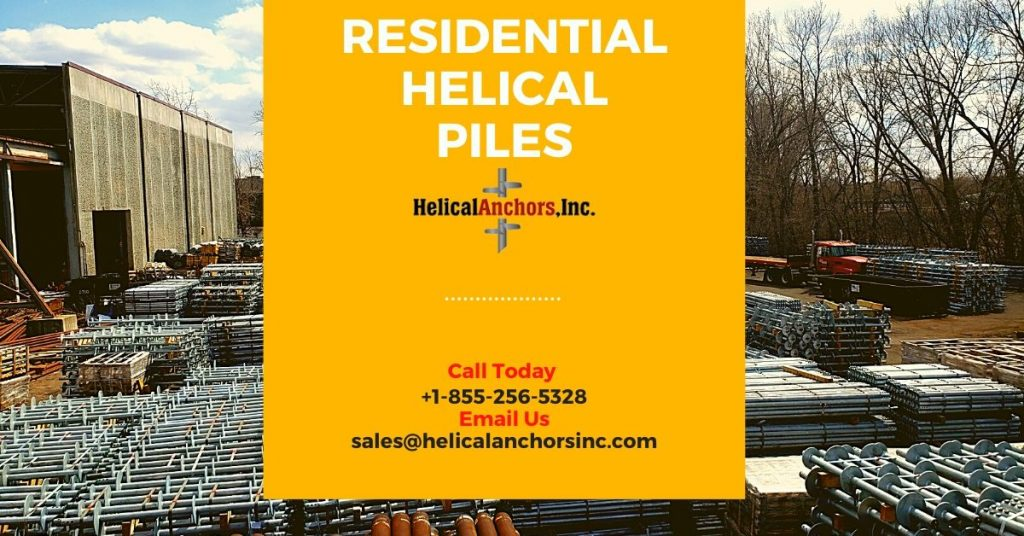 Residential Helical Piles